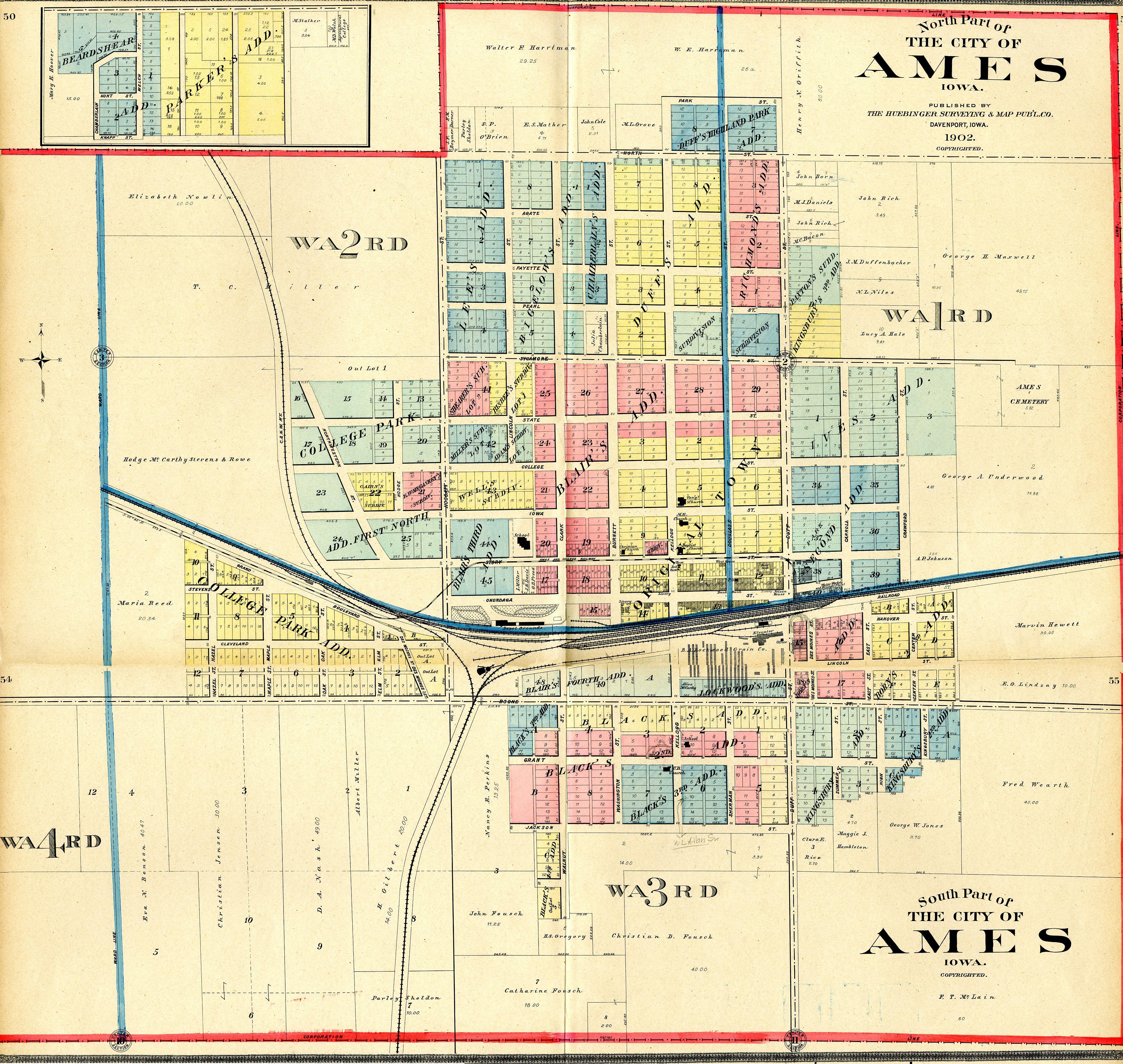 Ames Map | compressportnederland