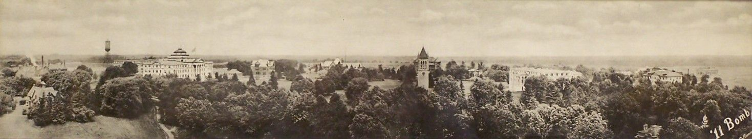 1911 view of ISU          Campus