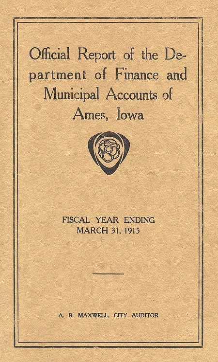 1915 Financial Report