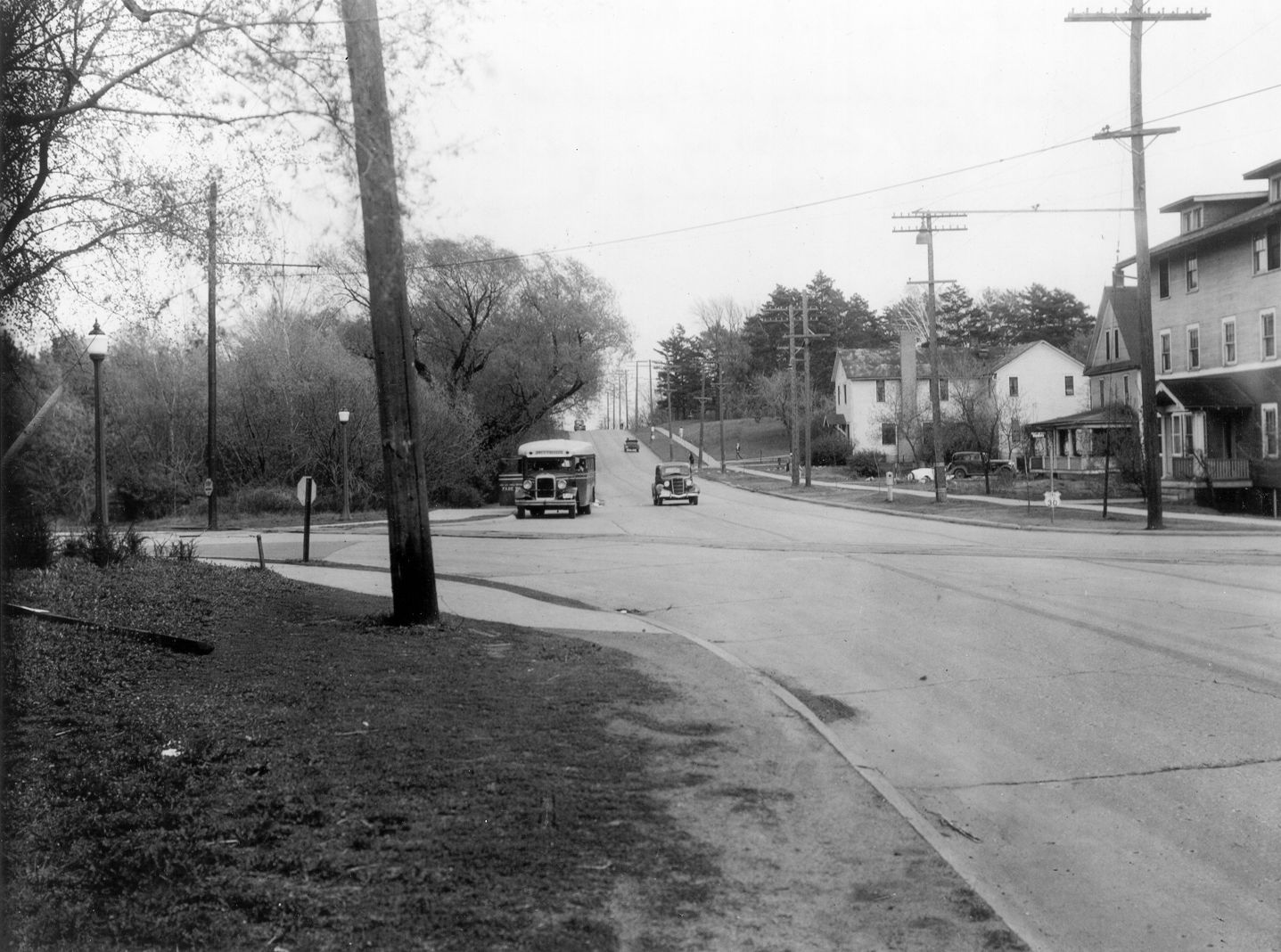 Lincoln Highway Ash Avenue Intersection Ames Historical