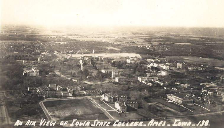 1938 Campus view - click to enlarge