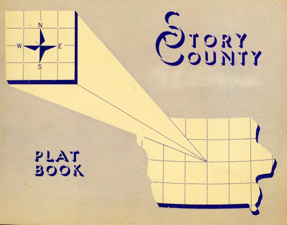 1950 Plat Map Cover