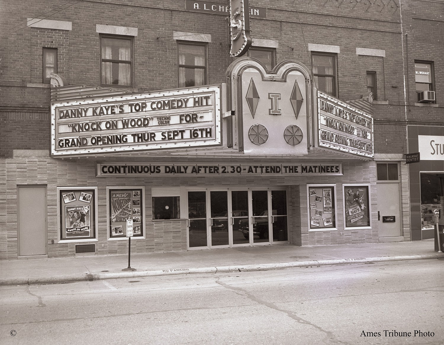 New Ames Theater, 1954