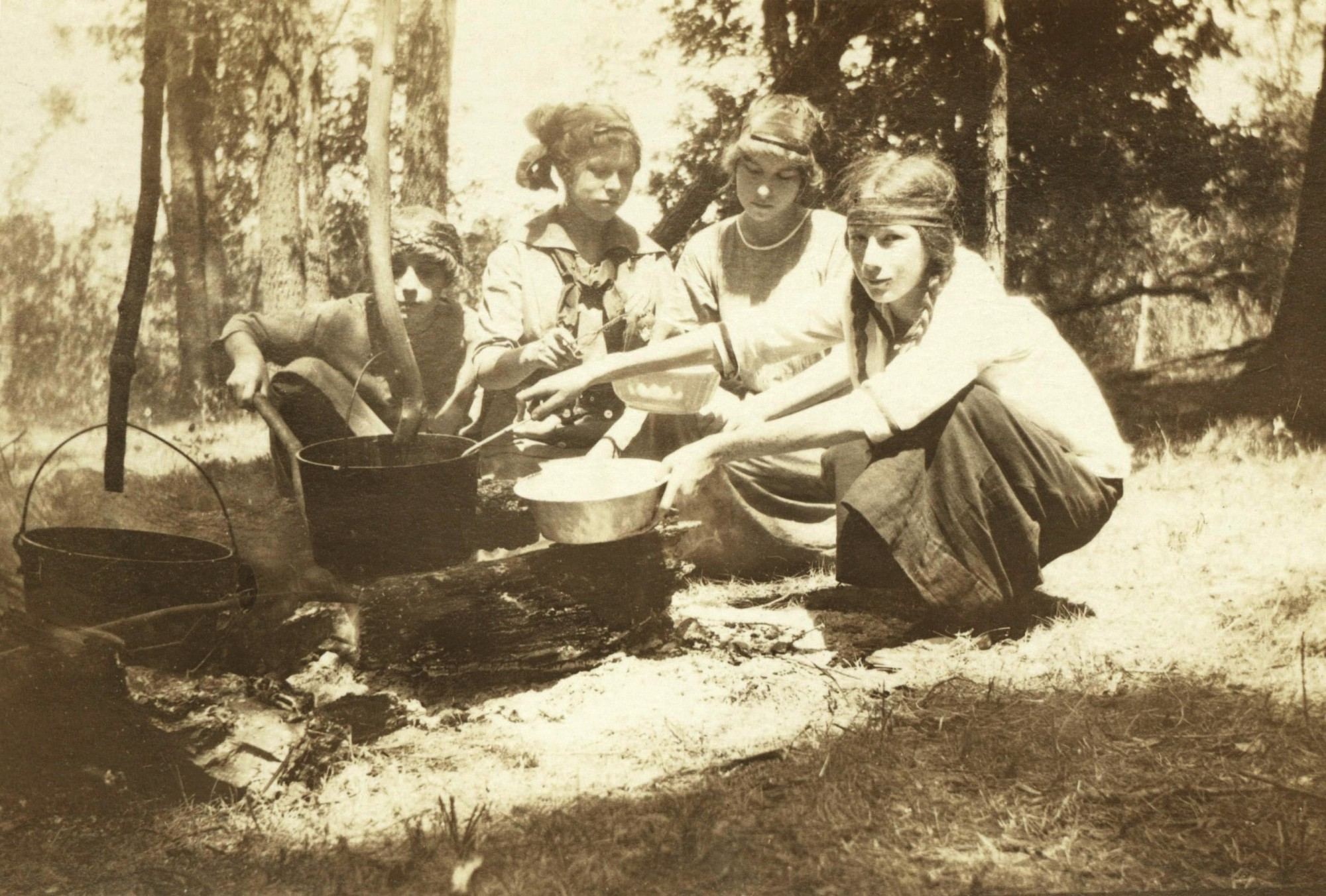 Camp Fire Girls Ames Historical Society