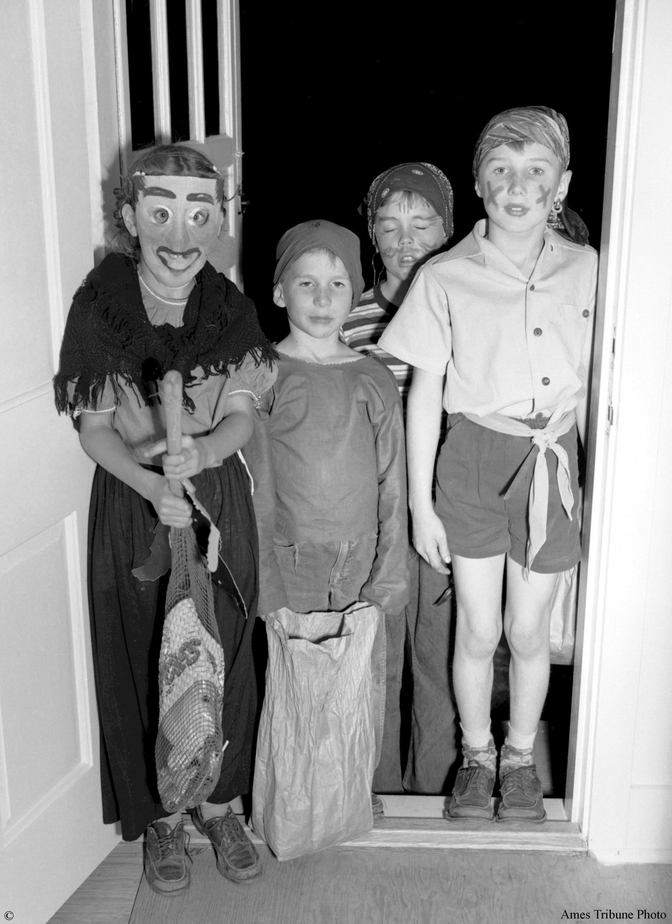 click to enlarge  sc 1 st  Ames Historical Society & Halloween 1950 | Ames Historical Society