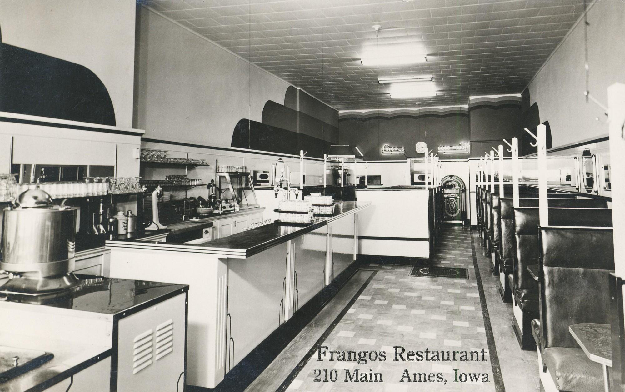 Hotel Frangos Restaurant Menu