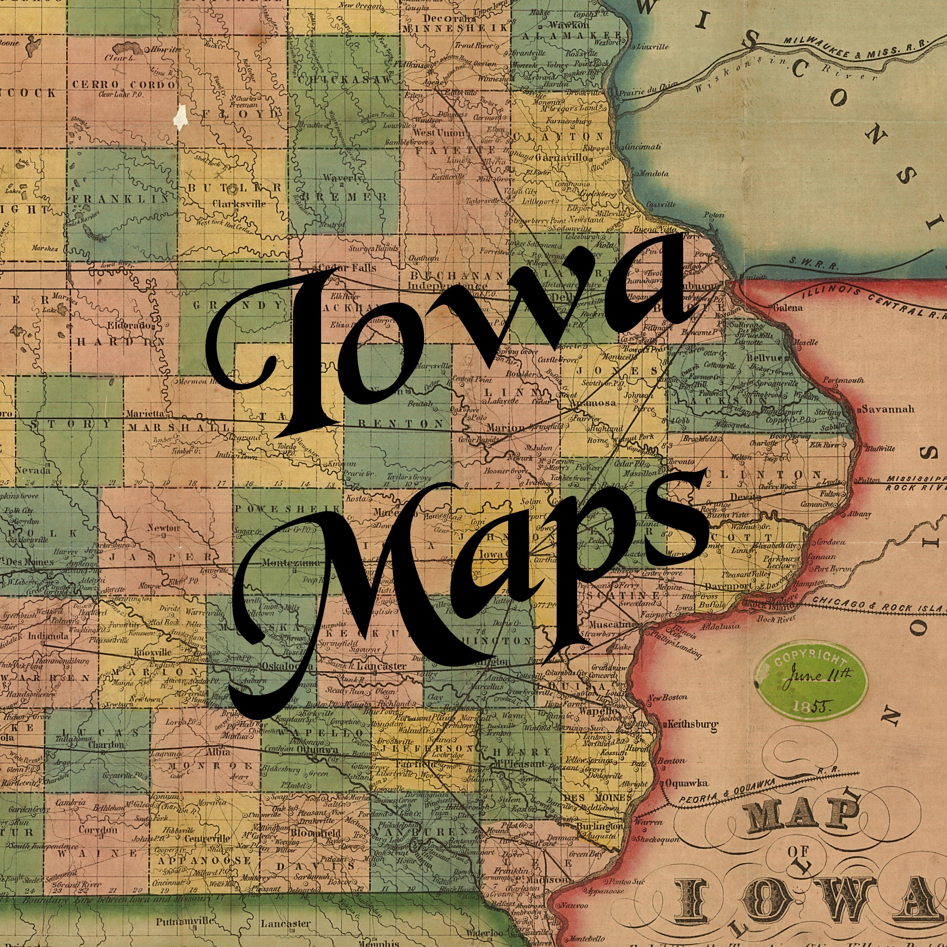 Maps Ames Historical Society