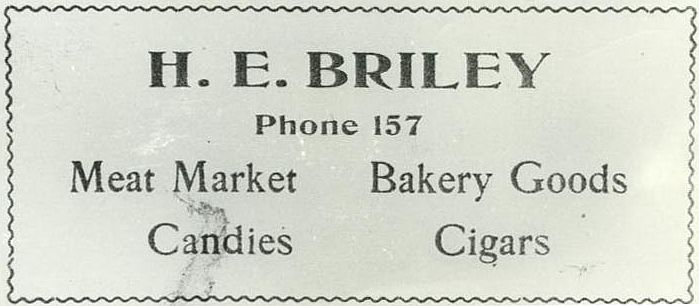 1912 Advertisement