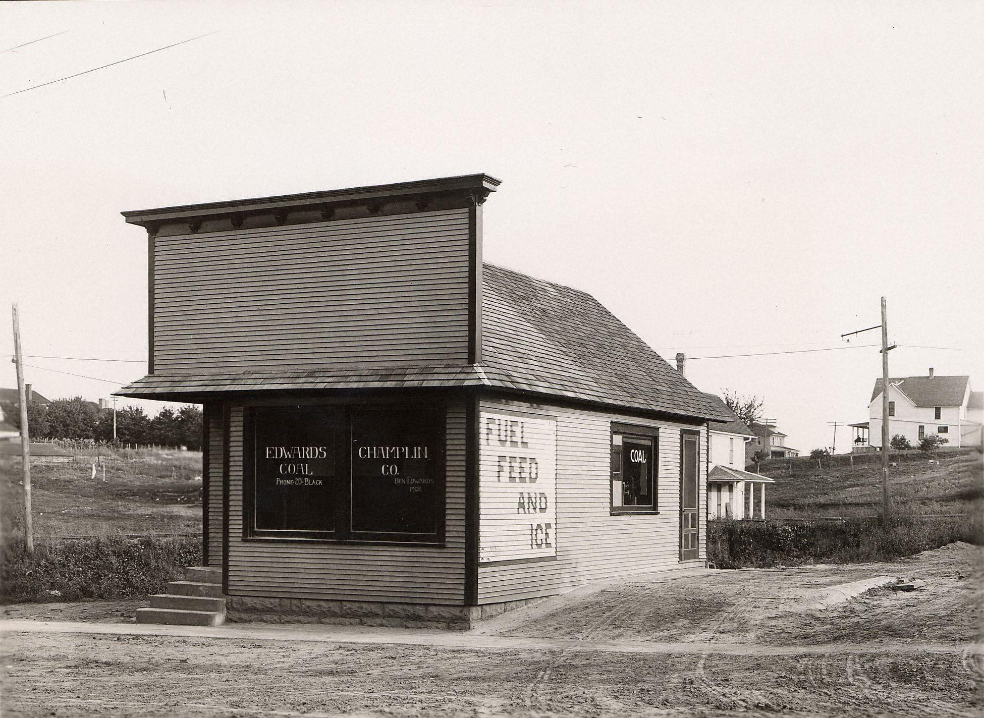 Edwards coal company ames historical society for Lincoln motor inn van wyck