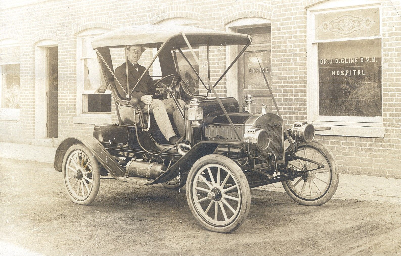 Dr. Jesse Dean Cline Veterinary Office | Ames Historical Society