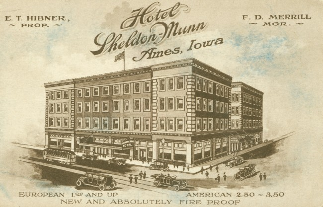 Sheldon Munn Hotel Formal Opening Menu And Program