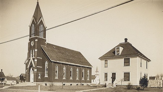 1906 Church Building and Parsonage