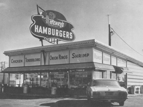 Henry 39 s hamburgers ames historical society for Lincoln motor inn van wyck