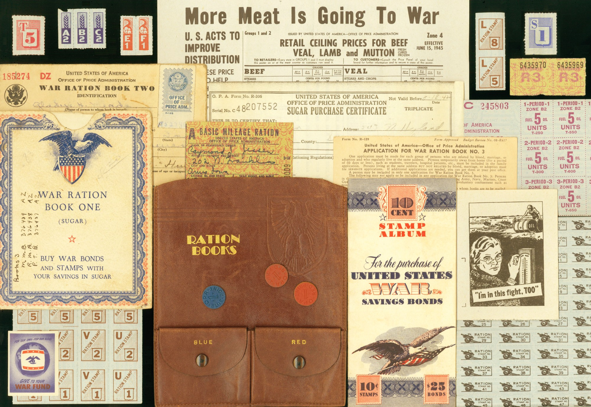 Ration Coins Introduced In 1944 Allowed Retailers To Give Change Back For Food Bought With Stamps