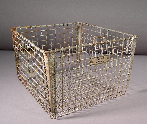 Top Mystery Item - Wire Basket | Ames Historical Society NE58